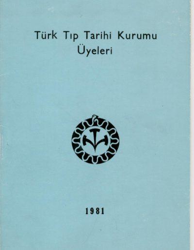 1981 Üyeler
