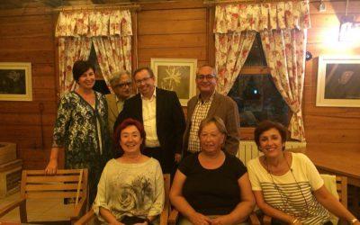 Edirne'de Trakya Üniversitesi'nin büyük misafirperverliğinde gerçekleşen Osmanlı Sağlık Gelenekleri Toplantısı'ndan (7-8 Eylül 2018) güzel bir anı: