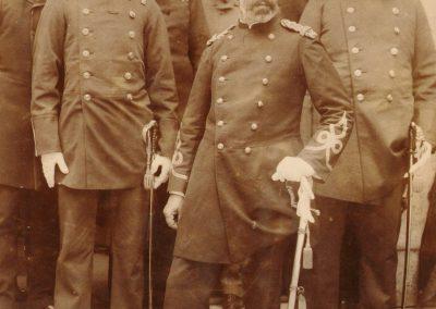 Dr. Zoeros Paşa, Dr. Hüseyin Remzi ve baytar Hüseyin Hüsnü beyle Pariste 1886