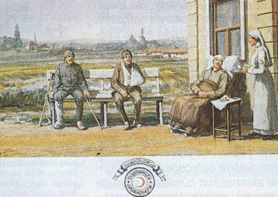 Hilal-i Ahmer Cemiyeti Kartpostalı (12)
