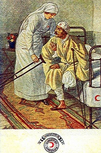 Hilal-i Ahmer Cemiyeti Kartpostalı (13)