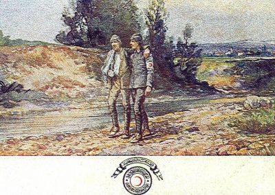 Hilal-i Ahmer Cemiyeti Kartpostalı (15)