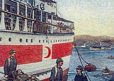 Hilal-i Ahmer Cemiyeti Kartpostalı (3)