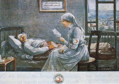 Hilal-i Ahmer Cemiyeti Kartpostalı (5)