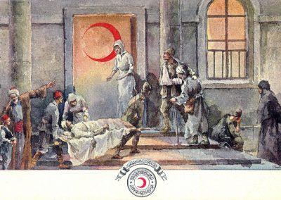 Hilal-i Ahmer Cemiyeti Kartpostalı (6)