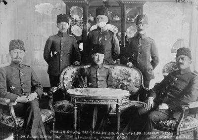 I.Dünya Savaşında Sıhhiye müfettişleri