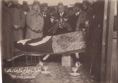 Mazhar Paşanın cenaze töreni (1)