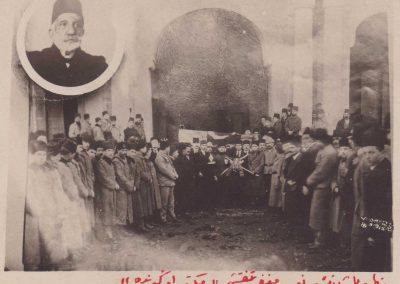 Mazhar Paşanın cenaze töreni (2)