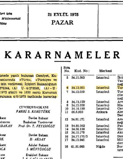Türk kelimesinin eklenmesi (Resmi Gazete no.15363)