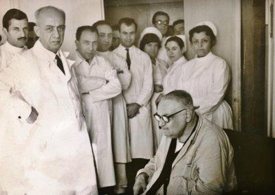 Yahya Kemal Beyatlı Cerrahpaşada